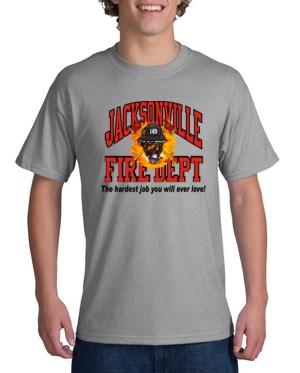 Custom fire department t shirt ctfire7 for Custom fire t shirts