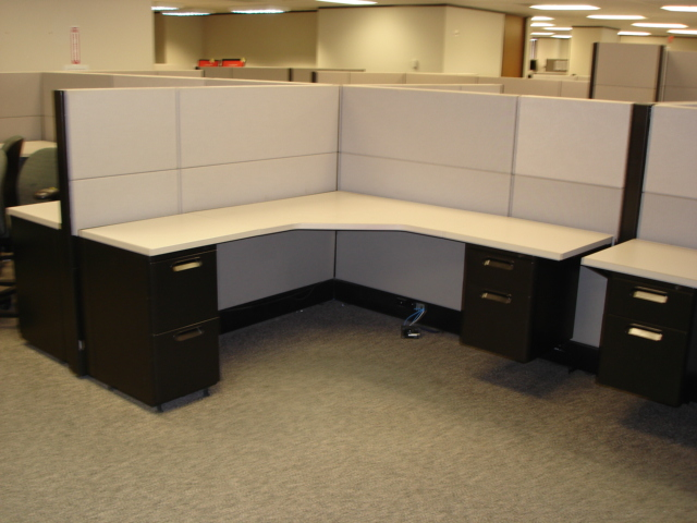 Industrial Office Cubicles : Moving cubicle in los angeles california commercial movers