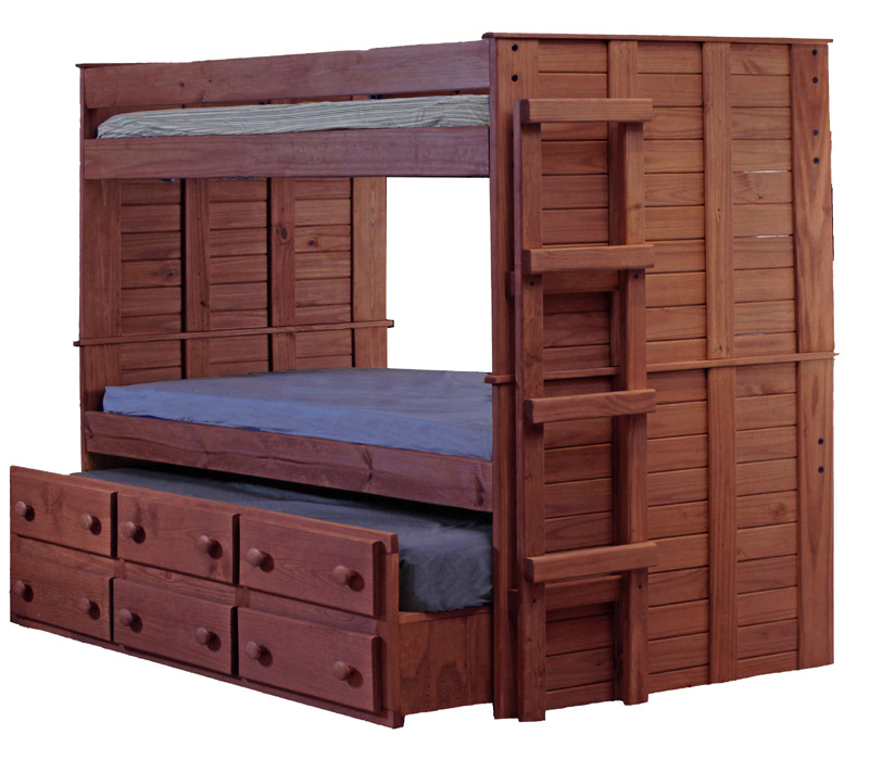 american furniture classics twin over full wood bunk bed wit