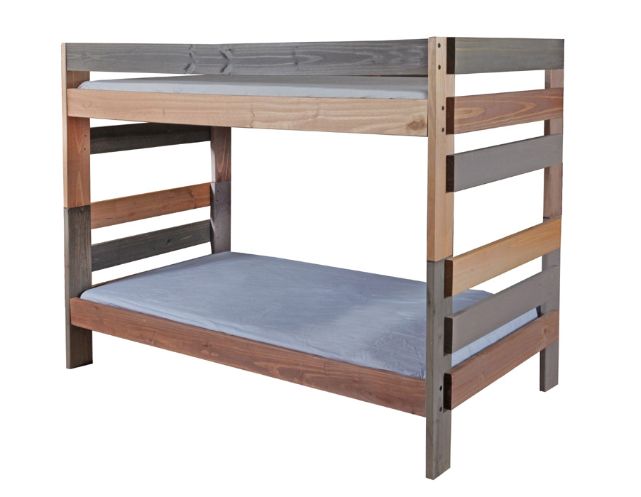 MC12 Twin Stackable Bunk Bed Approximate Assembled Dimensions 80L X 41W 61H Distance From Top Of Bottom Rail On To