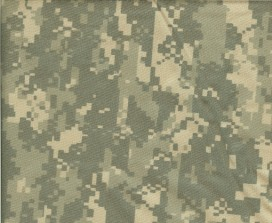 Arrives in 6535 rip stop poly  U.s. Army Digital Camouflage Pattern