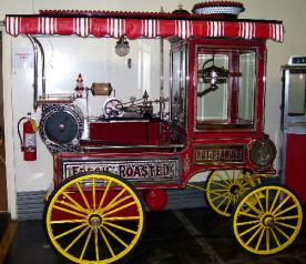 antique popcorn machine for sale