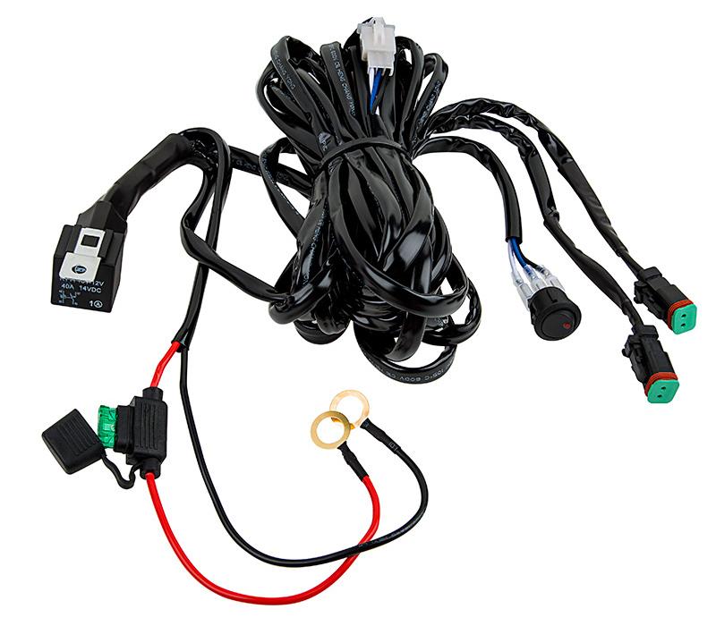 two light wire harness 16 ga totron 6 u0026quot  12 u0026quot  20 u0026quot