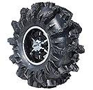 Interco Black Mamba ATV Tires.  Wheel sold separately.