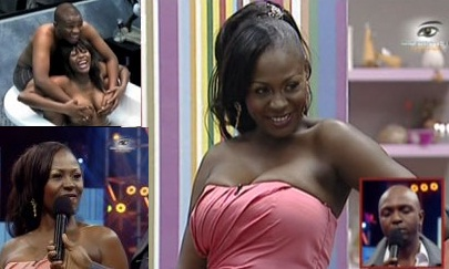 Confidence from Ghana was the seventh housemate to be evicted