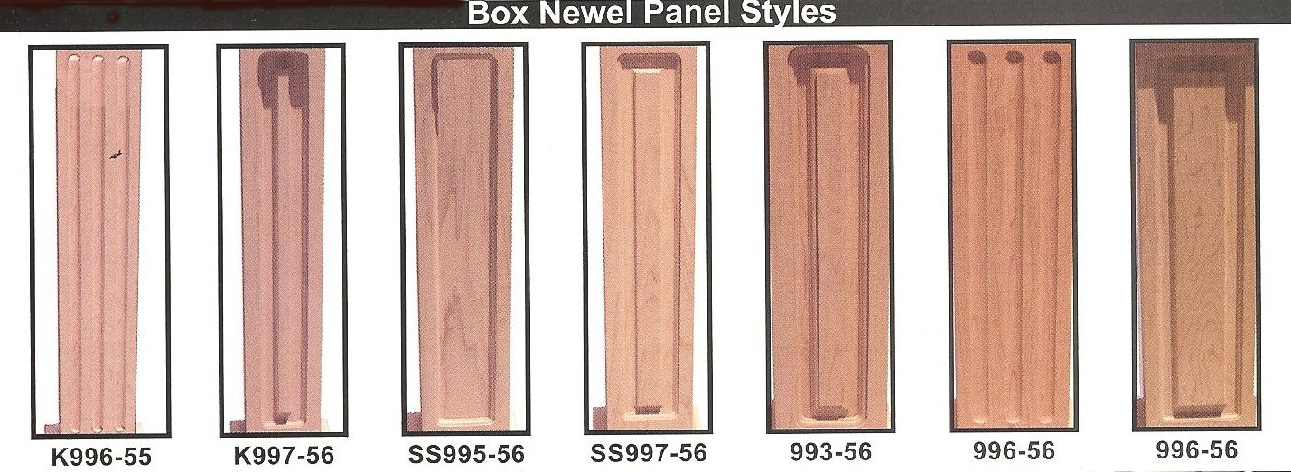 LEEPERS BOX NEWELS PANEL STYLES & Iron Stair Balusters call 818-335-7443 Stair Parts Iron Balusters ... Aboutintivar.Com