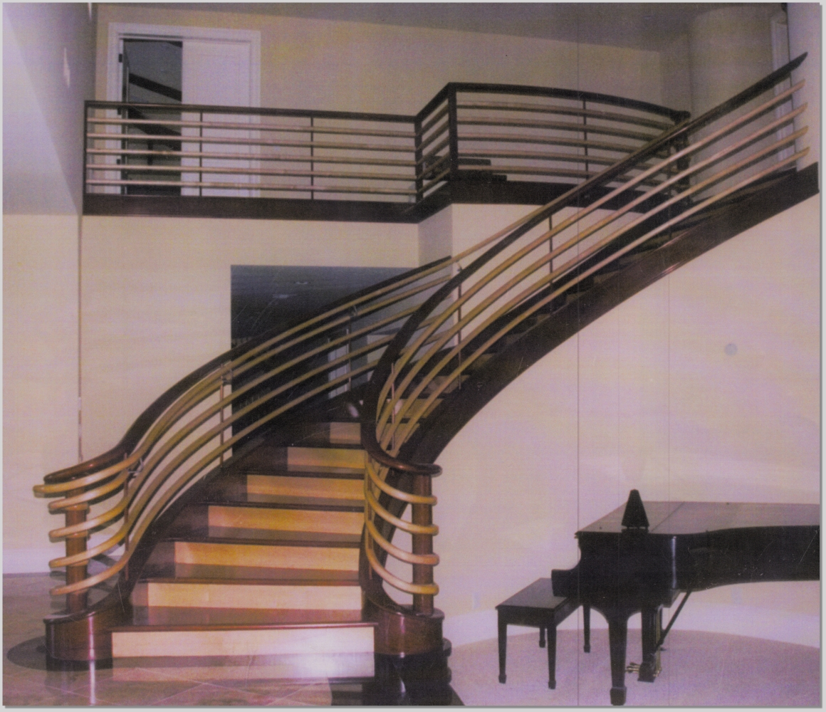 Curved Round Staircase Small