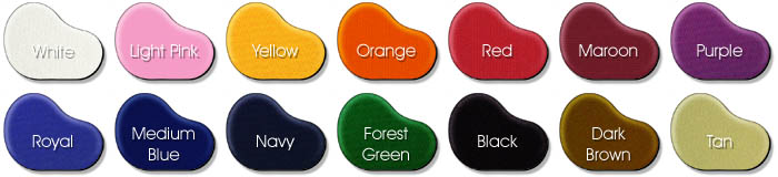 Polyester Bean Bag Colors