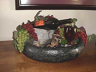 Kim S Custom Wine Bottle Fountain Fountains N Slate