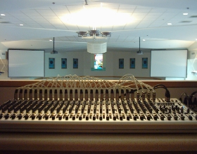 Church Audio Installation Little Rock Arkansas