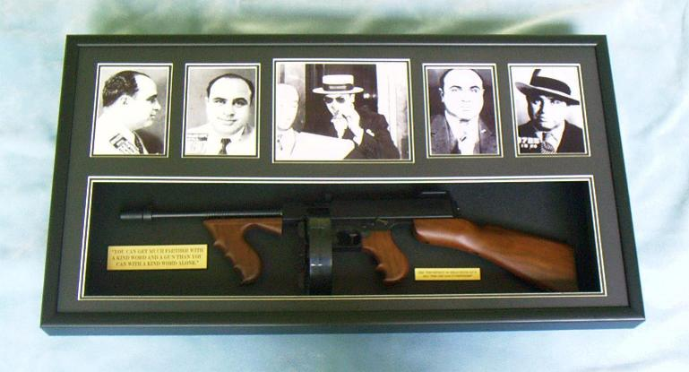 American gangster memorabilia up for auction - YouTube