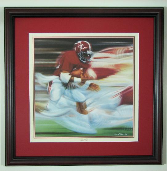 Alabama And Auburn Framed Prints Daniel Moore Quot Flashback