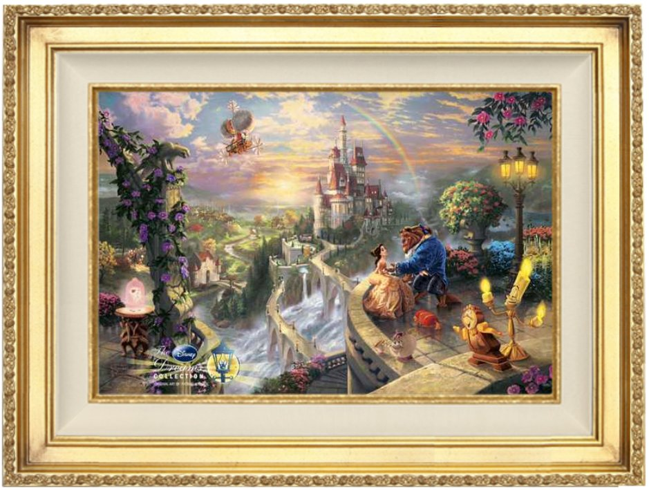 Alabama And Auburn Framed Prints Beauty And The Beast