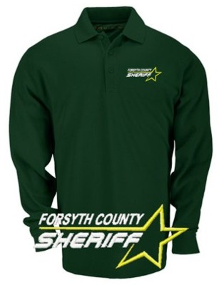 6f8e40660 5.11 Long Sleeve Pro Polo Custom Embroidered Star Sheriff Shirt -  Teamlogo.com | Custom Imprint and Embroidery