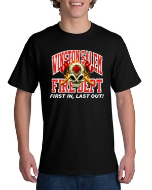 Youth Custom Fire Department T Shirt Ctfire6 Youth Teamlogo Com