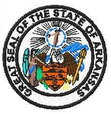 arkansas state seal digitized for embroidery teamlogo com custom