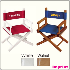 Kids Director Chair with Custom Imprint