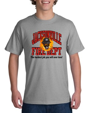 8fbaabf72 Youth Custom Fire Department T-Shirt (CTFIRE7-YOUTH) - Teamlogo.com | Custom  Imprint and Embroidery