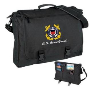 Military Custom Embroidered Briefcase