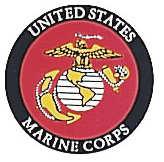 Rothco US Marine Corps Decal - BACK GUM