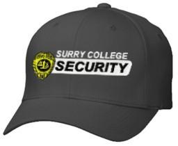 7a80324331cae Security Badge Custom Bar Logo Flexfit Cap - Teamlogo.com