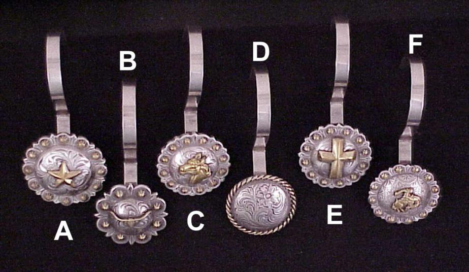TexHAs Products Texas Style Western Conchos Saddle