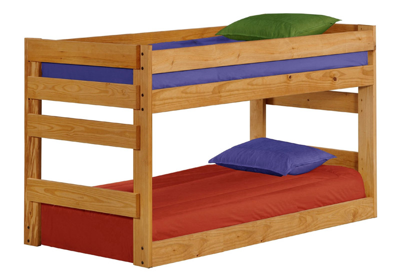 Gin4003b Twin Bottom Bunk Bed