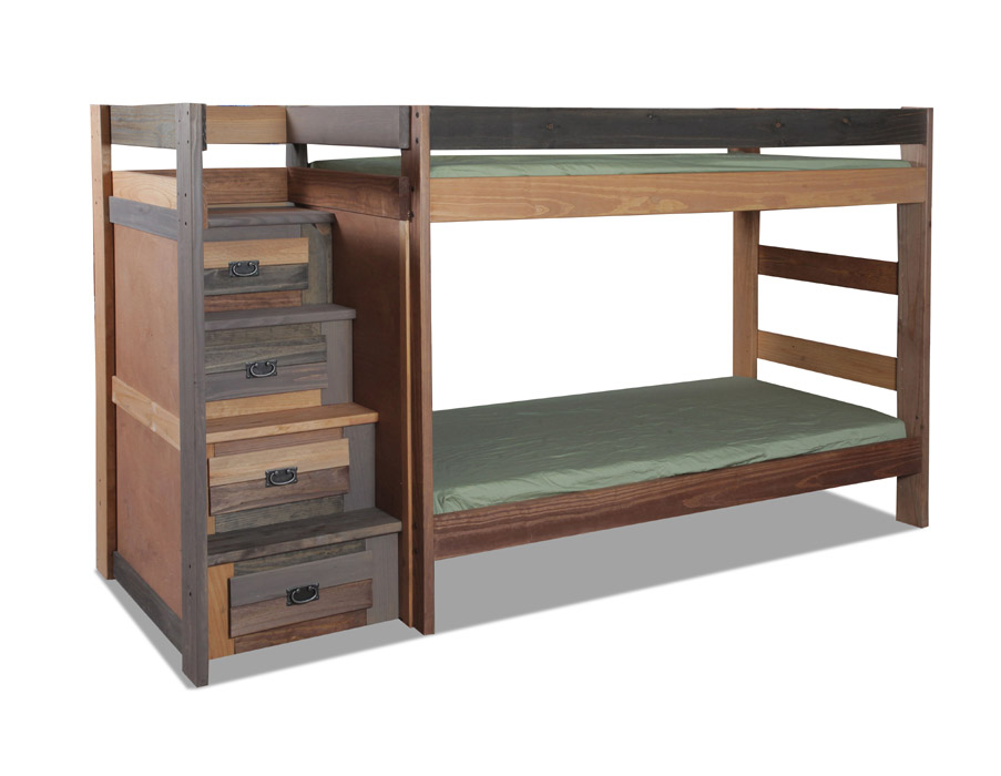 Pine Crafter American Made Quality Furniture Staircase Beds