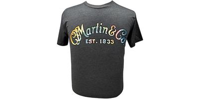 Martin Tie-Dye Log Tee