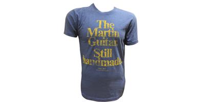 Martin Still Handmade T-Shirt - Blue