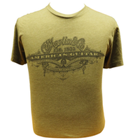 Martin America's Guitar T-Shirt - Military Green
