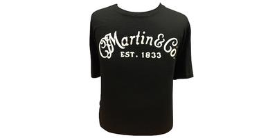 Martin Classic Logo Tee - Black