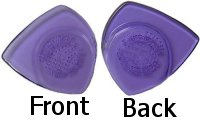 Awe-In-One Pick - Clear Purple 6pk