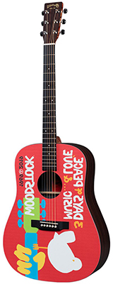 Martin DX Woodstock 50th Left Handed