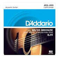 D'Addario EJ11 Light Strings