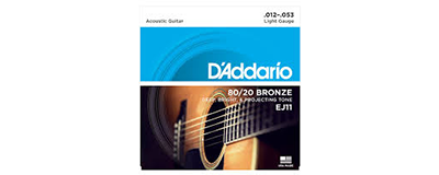 D'Addario EJ11 Light Strings