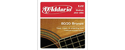 D'Addario EJ12 Medium Strings