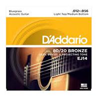 D'Addario EJ14 Bluegrass Strings