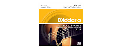 D'Addario EJ14 Bluegrass Strings