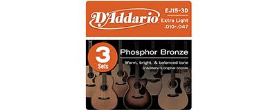 3pk - D'Addario EJ15 String