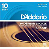 10 pack - D'Addario EJ16 String