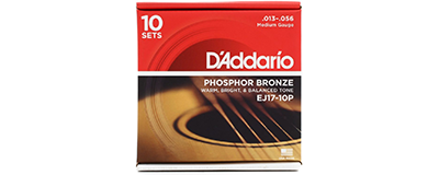 10 pack - D'Addario EJ17 String