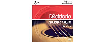 3pk - D'Addario EJ17 String