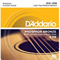 D'Addario EJ19 Bluegrass Strings