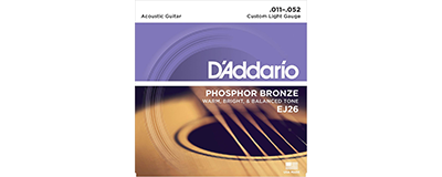 D'Addario EJ26 Custom Light Strings