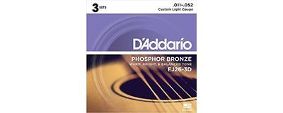 3pk - D'Addario EJ26 String