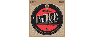 D'Addario EJ45 Pro-Arte Classical Guitar Strings
