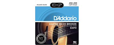 D'Addario EXP11 Light Strings