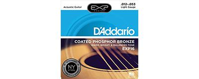 D'Addario EXP16 Light Strings