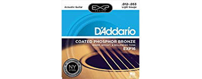 D'Addario EXP16 Light Strings